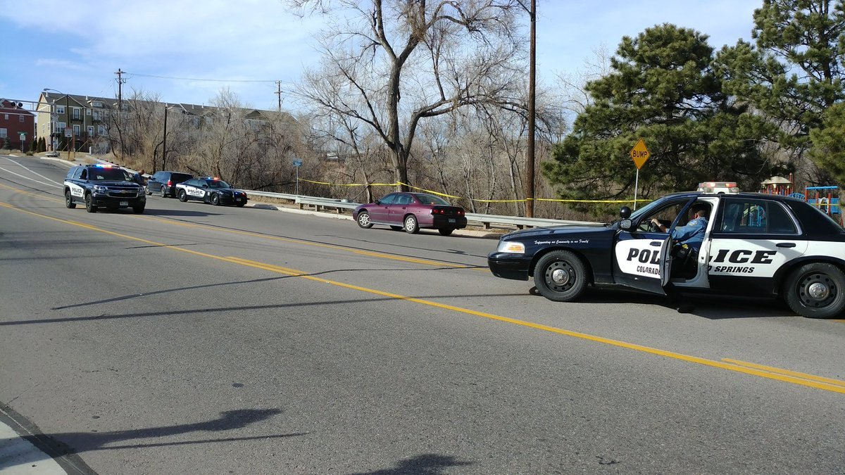 Colorado Springs police investigating after a body was found in Shooks Run Park.
