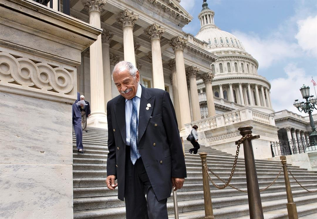 FILE: Longtime Rep. John Conyers says he is retiring
