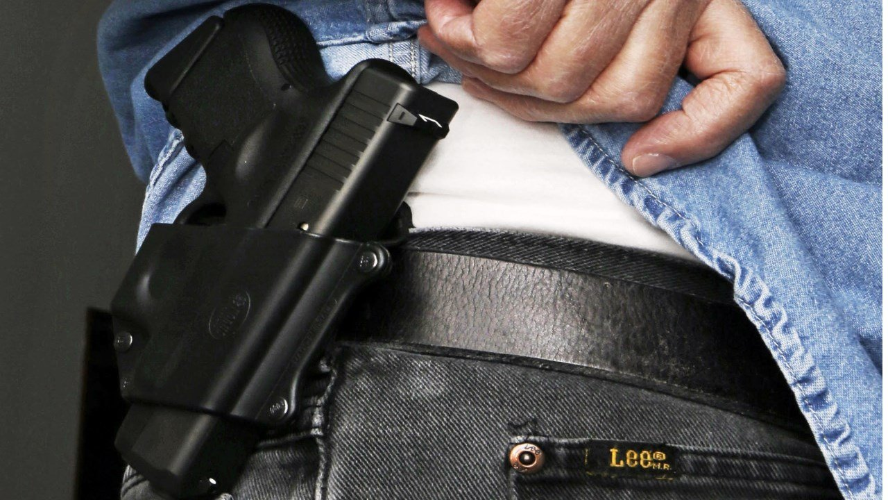 Hudson, Foxx urge concealed-carry passage