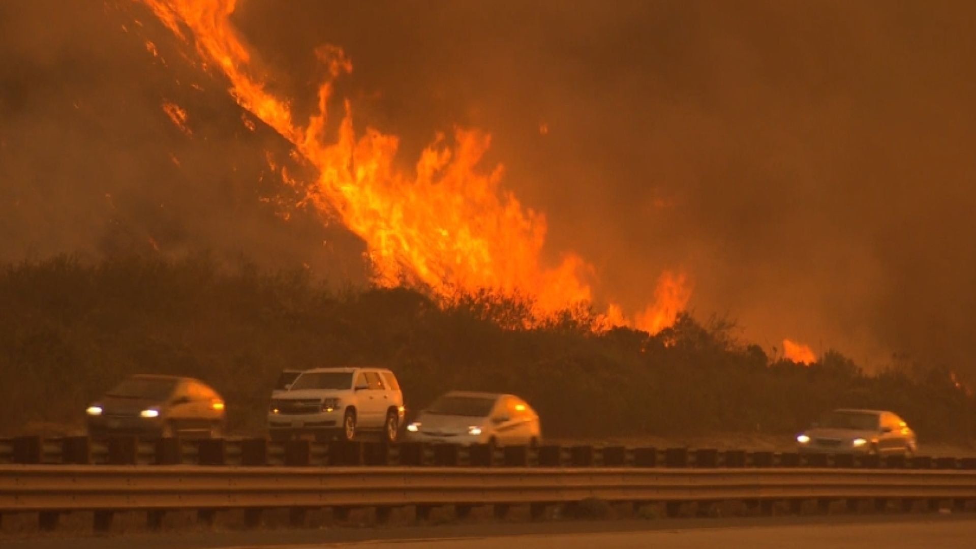 Growing Fires Threaten Los Angeles