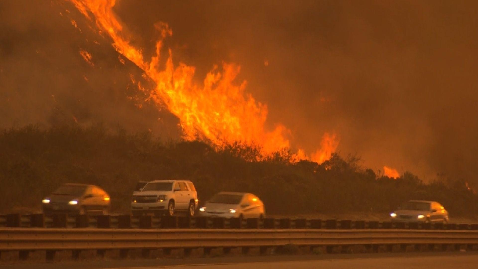 Growing Fires Threaten Los Angeles