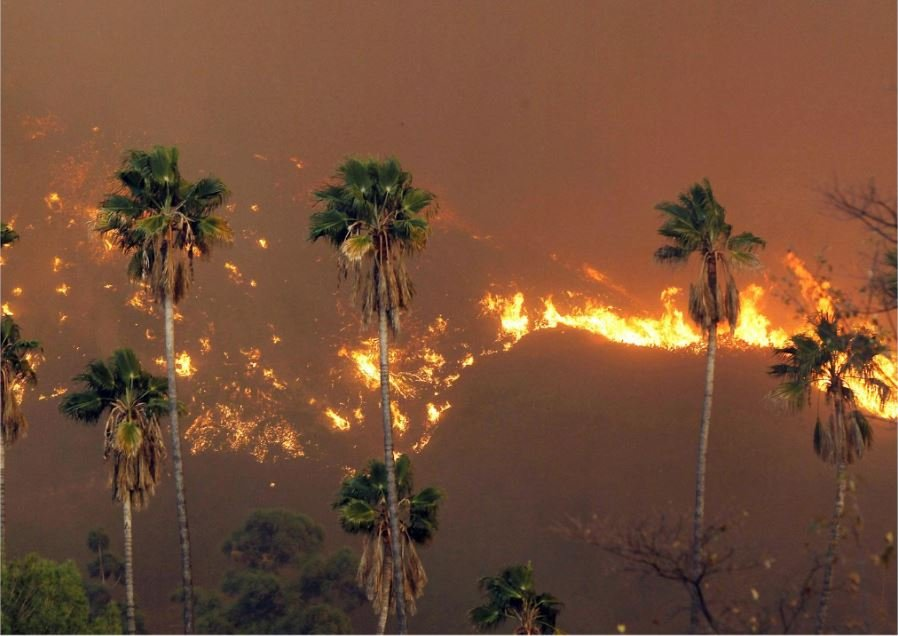 Southern California wildfires claim first life