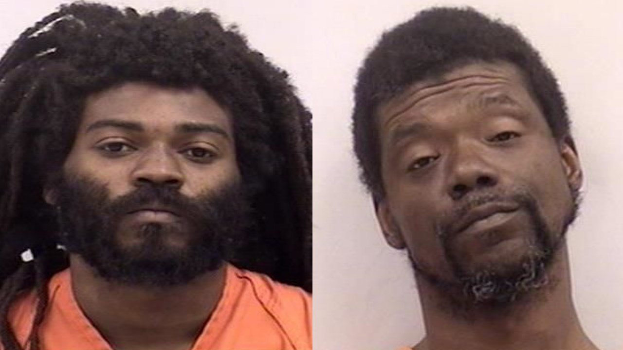 Kenneth Alexander and Earnest Marcel Mims are charged with first degree murder.