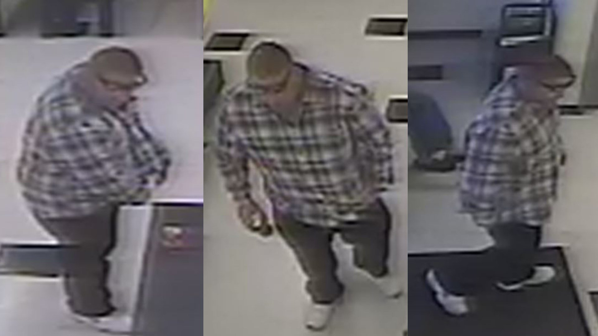 Suspect in  Security Coin Wash theft on Nov 24,,2017.