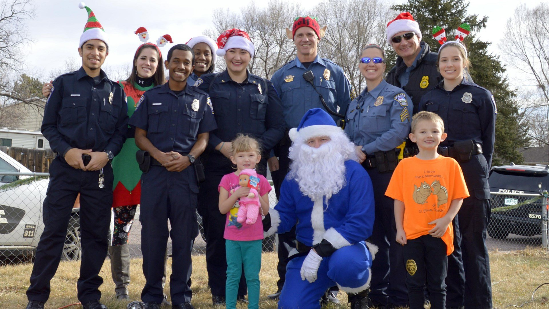 Family receives special surprise from CSPD officers