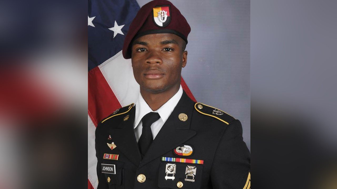 USA  soldier fought to end after ambush in Niger — APNewsBreak