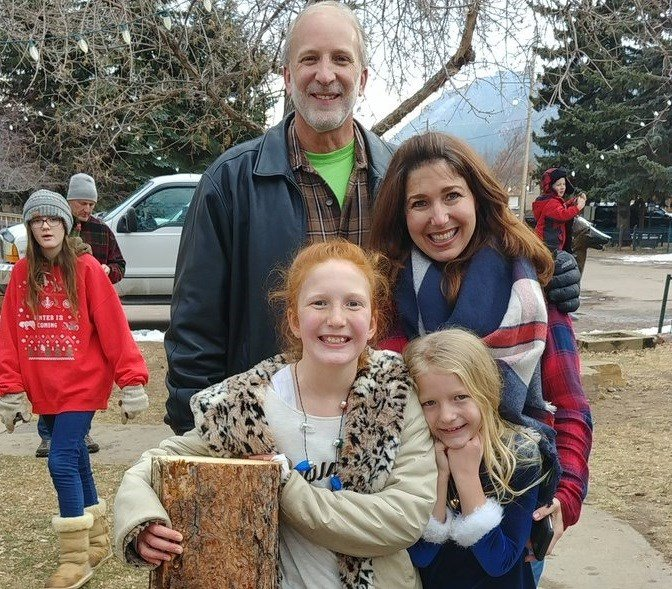 Congratulations to Sierra Verlare and her dad on finding this year's Yule Log in Palmer Lake.