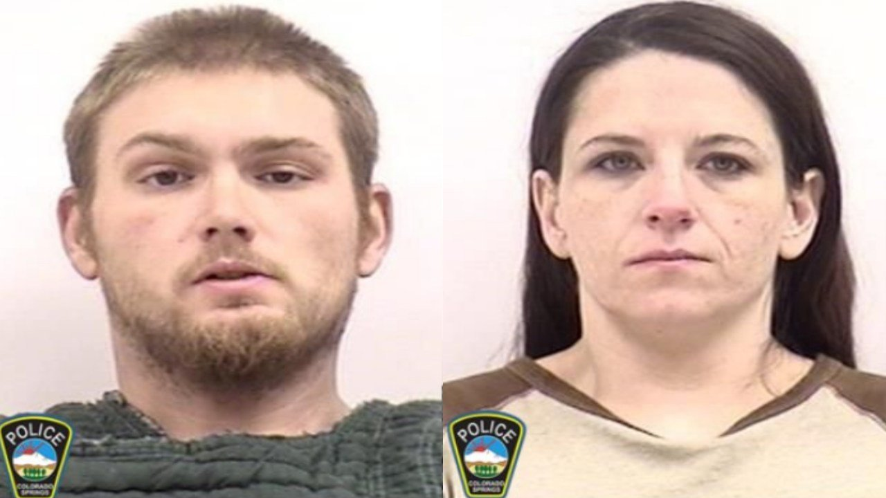 Jonathan Akes and Michelle Liali are accused of motor vehicle theft in Colorado Springs