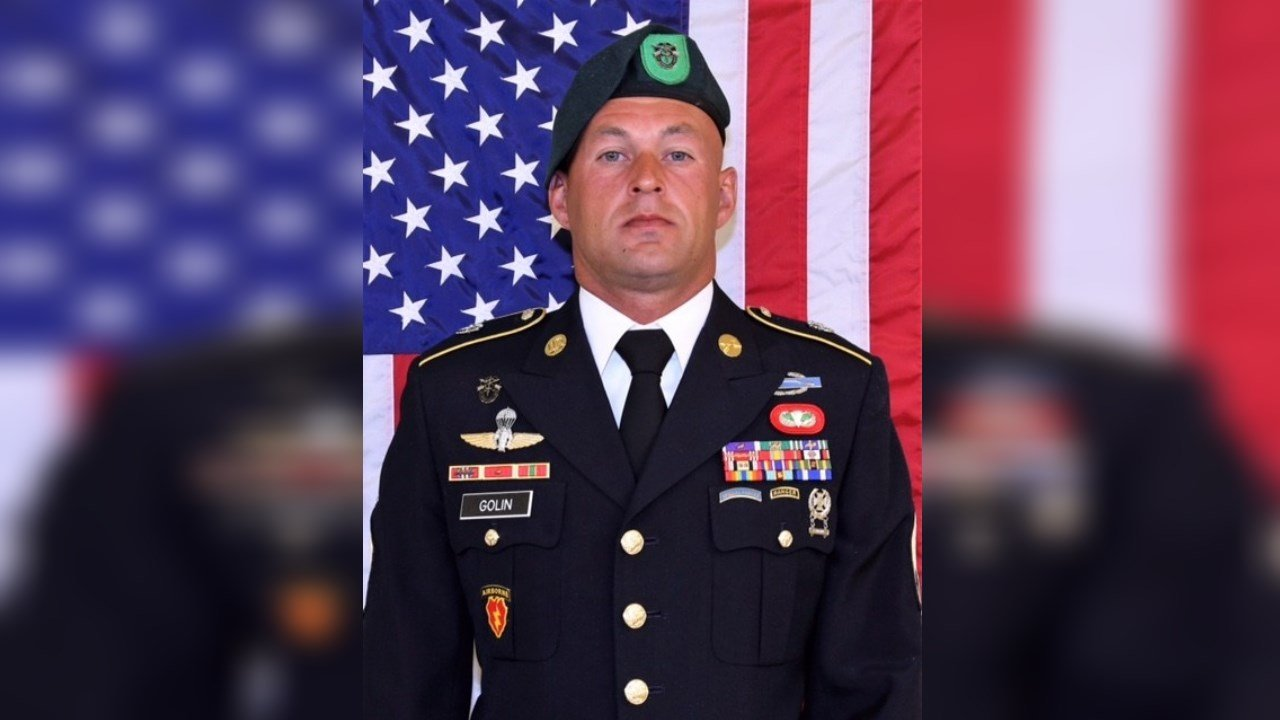 Sergeant First Class Mihail Golin, killed in action in Afghanistan. (US Army)