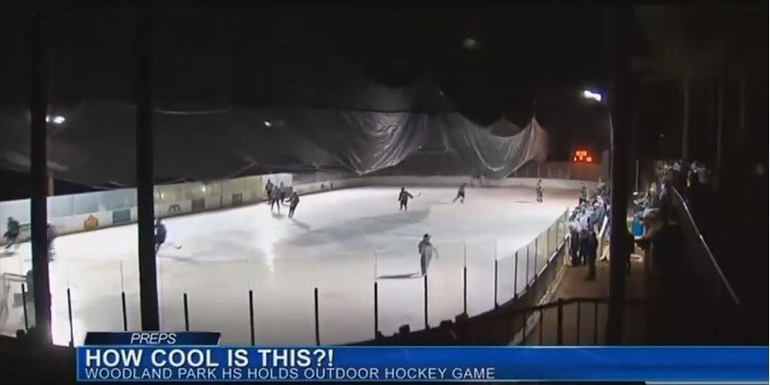 Woodland Park outdoor hockey