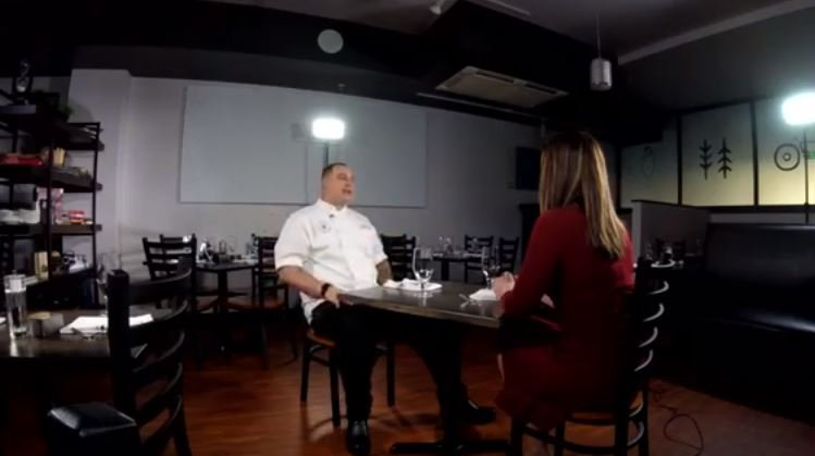 "Brother Luck sits down with News 5 as he battles on Bravo's ""Top Chef"""
