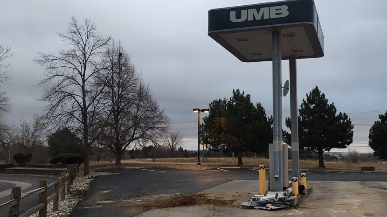 The ATM was stolen from UMB on E. Cheyenne Mountain Blvd in Colorado Springs. (KOAA)