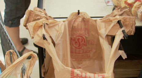 A proposed bill in the legislature would add 25 cents for using plastic bags at the grocery store