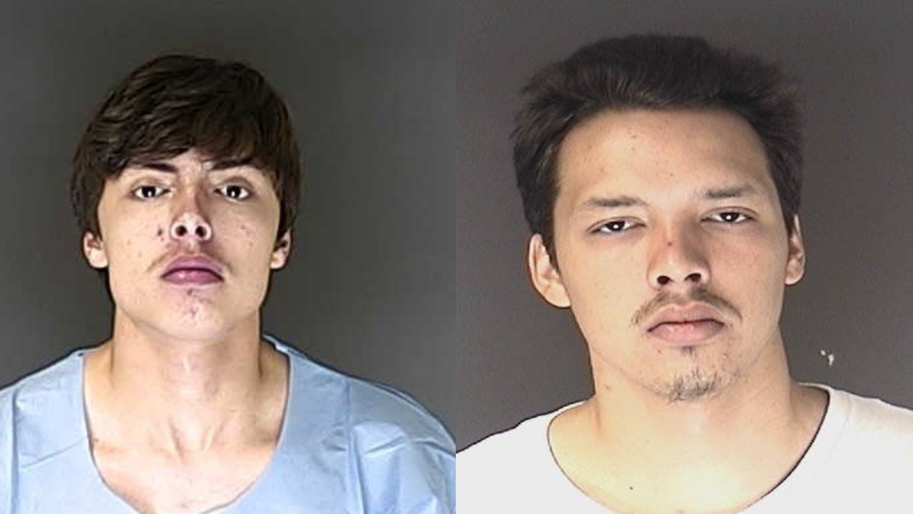 Enrique and Efrain Archuleta are wanted for theft in El Paso County.