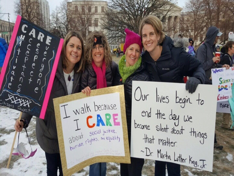 Women's March in Denver in 2017