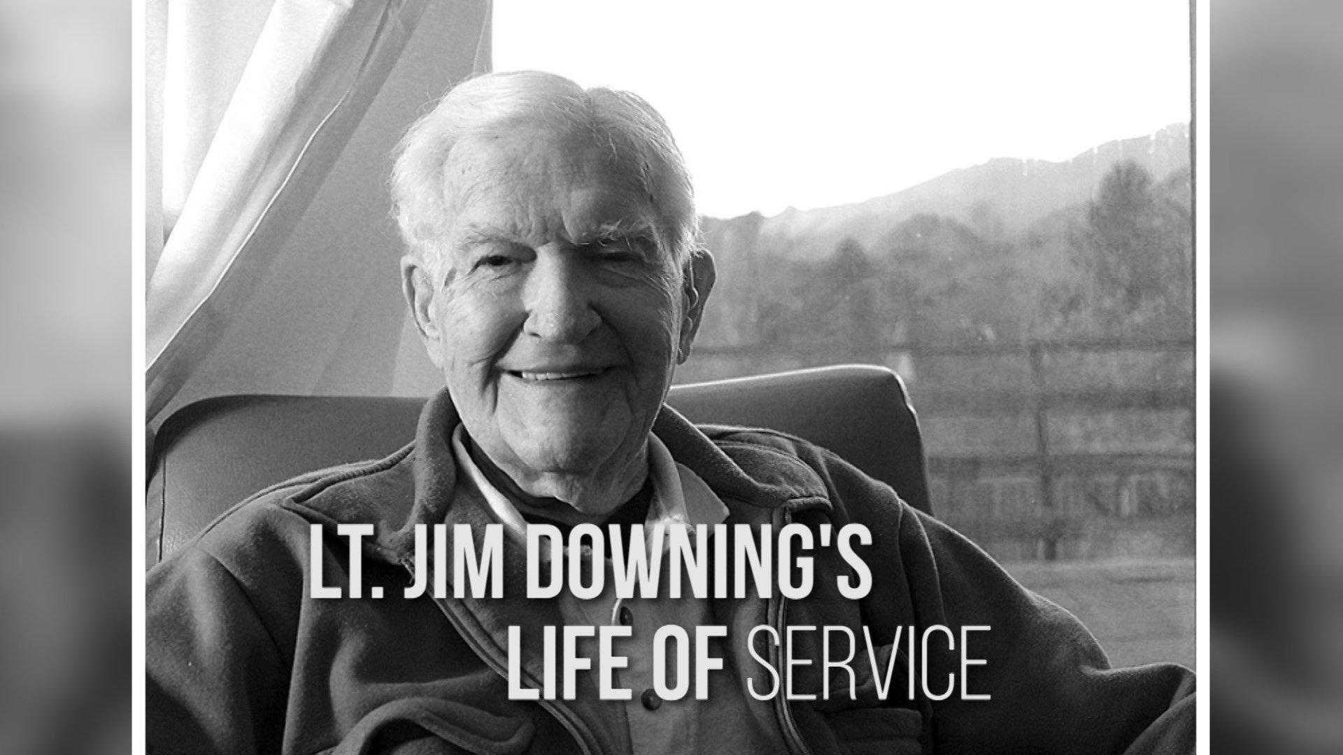 Jim Downing memorial
