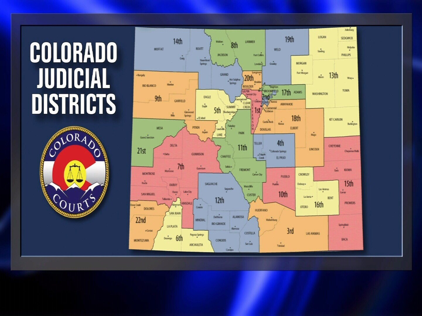 Felony case filings in Colorado grew by an average of 22 percent between 2015 and 2017
