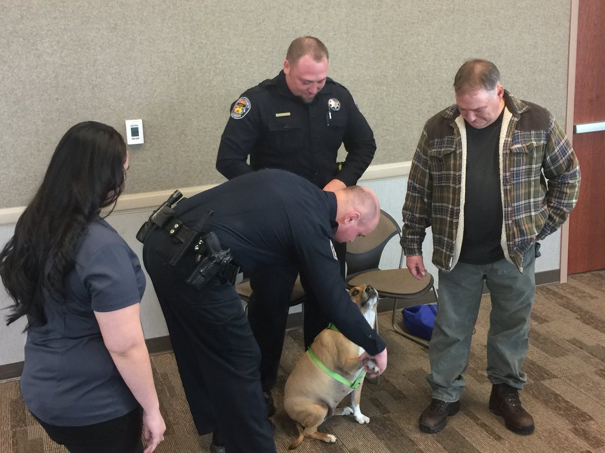 50-year-old Bruce Kaufman thanks deputies who helped rescue his dog on Sunday.