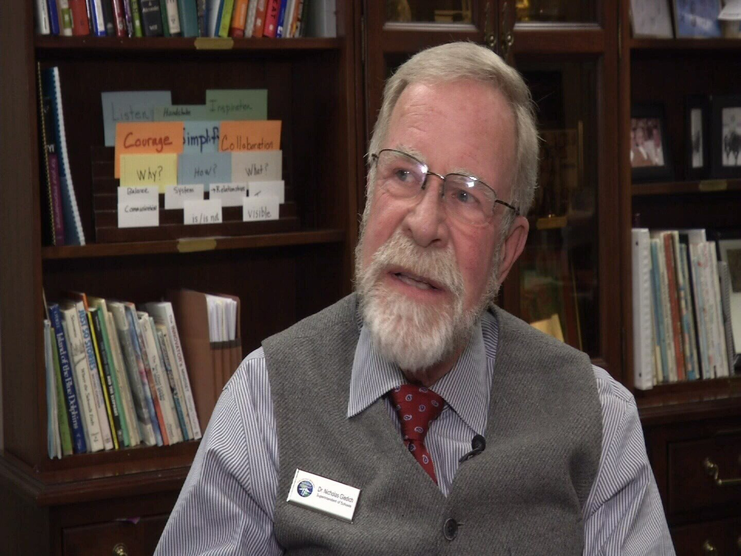 Superintendent Dr. Nick Gledich announced his retirement to the District 11 School Board this week after nine years of service. (KOAA)