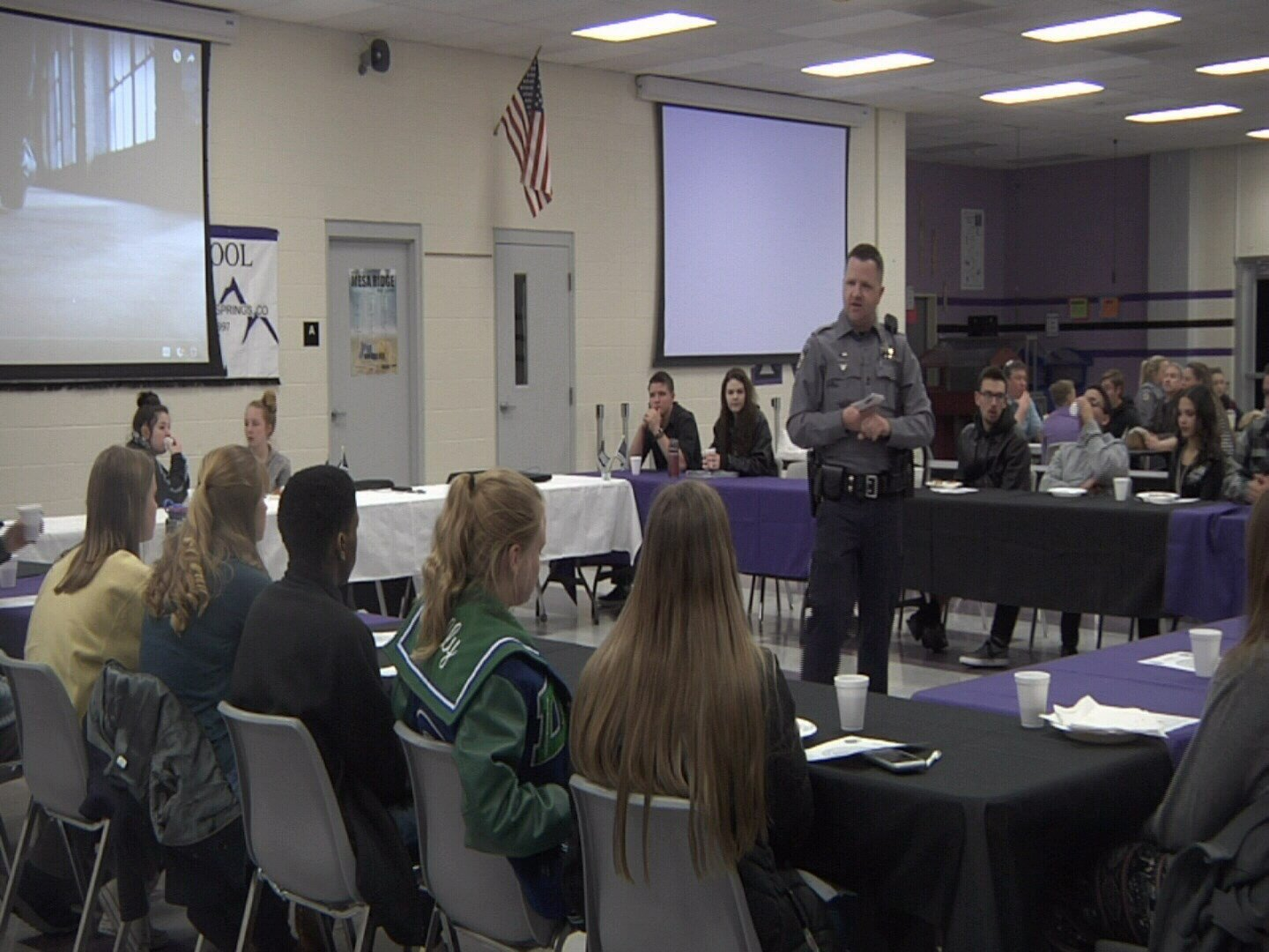Youth Advisory Council meets at Mesa Ridge High School