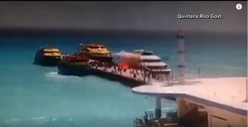 Government employees banned from Mexican tourist ferry route