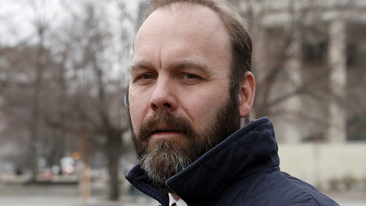Rick Gates was indicted in October on charges stemming from foreign lobbying work in Ukraine. (AP Photo/Alex Brandon)