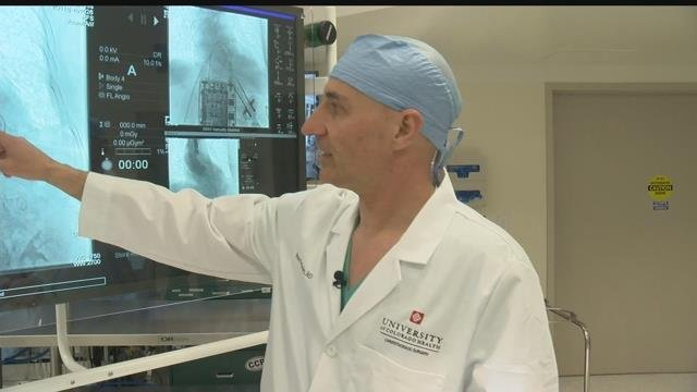 Dr. Peter Walinsky is the senior medical director of cardiothoracic and vascular surgery at Memorial who says it's among the best in the nation