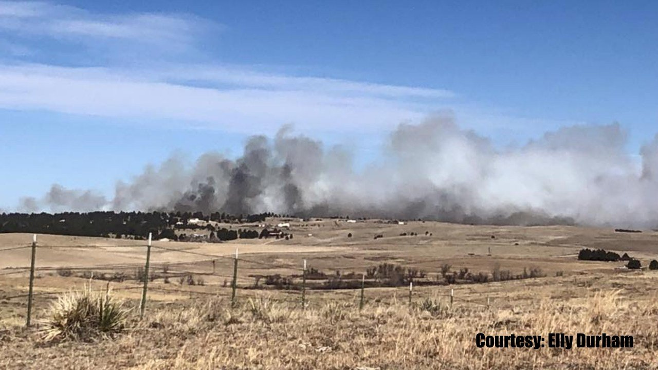 Wildfire destroys 4 homes in Elbert County, no one hurt
