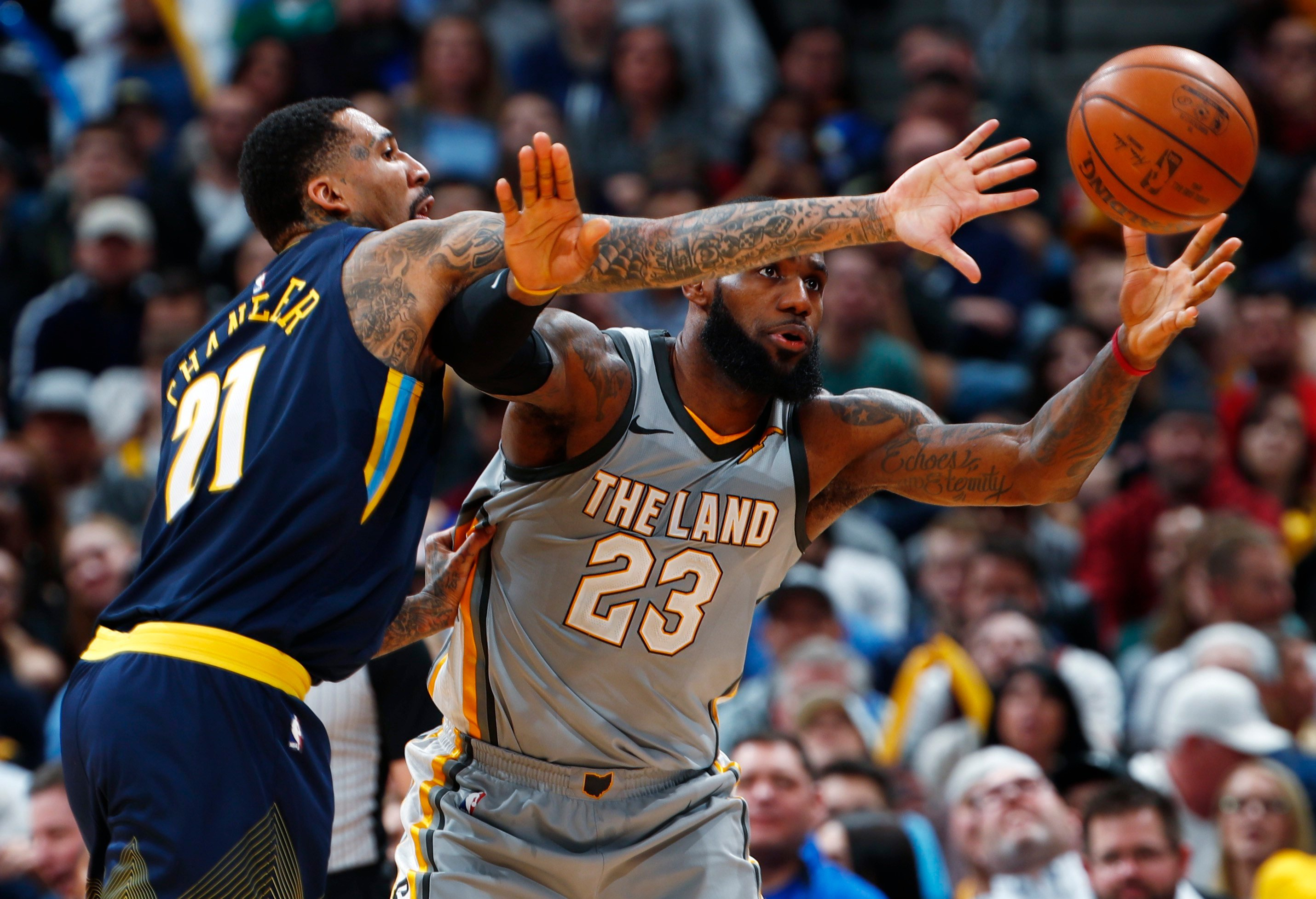 Denver Nuggets: Player grades from Cleveland loss