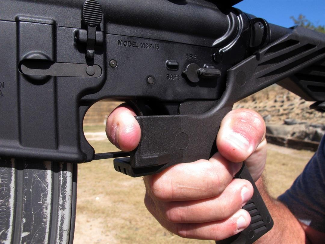 The Las Vegas gunman possessed a little-known attachments for riflescalled bump stocks on a dozenof his rifles found in his hotel room.