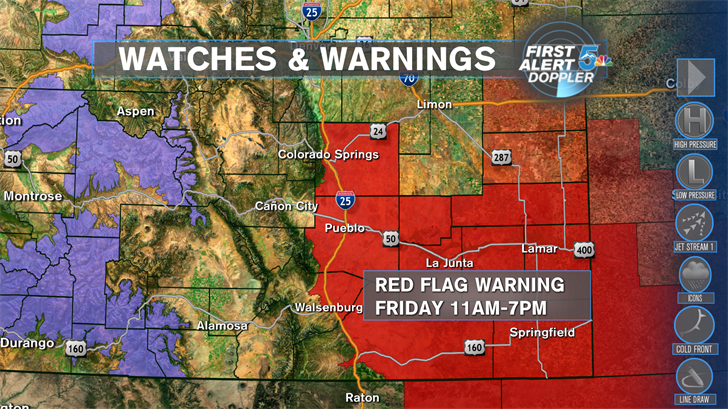 Warm+windy+dry=High Fire Danger