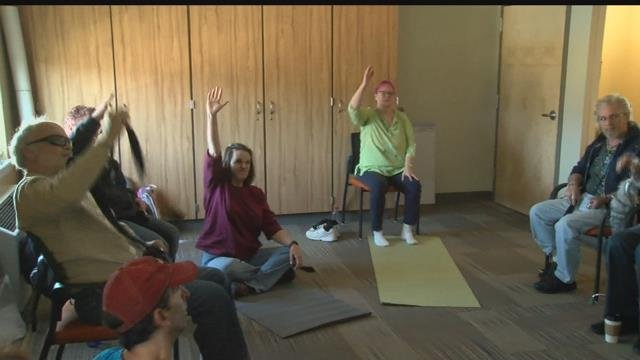 Yoga helps people who have suffered a traumatic brain injury reconnect their minds and their bodies