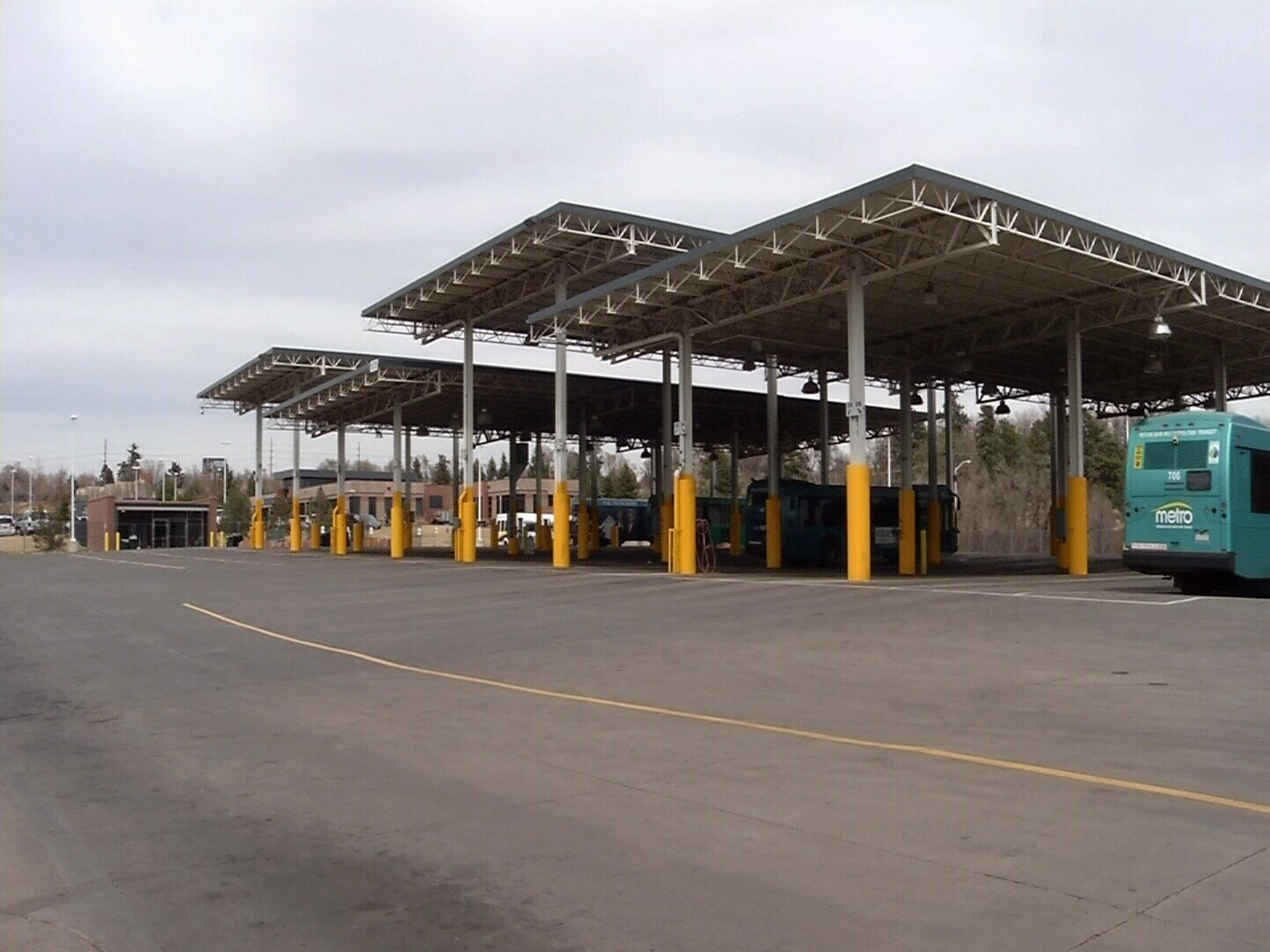 Mountain Metro Transit in Colorado Springs received a $750,000 grant from the Federal Transit Administration to build a garage for its buses.
