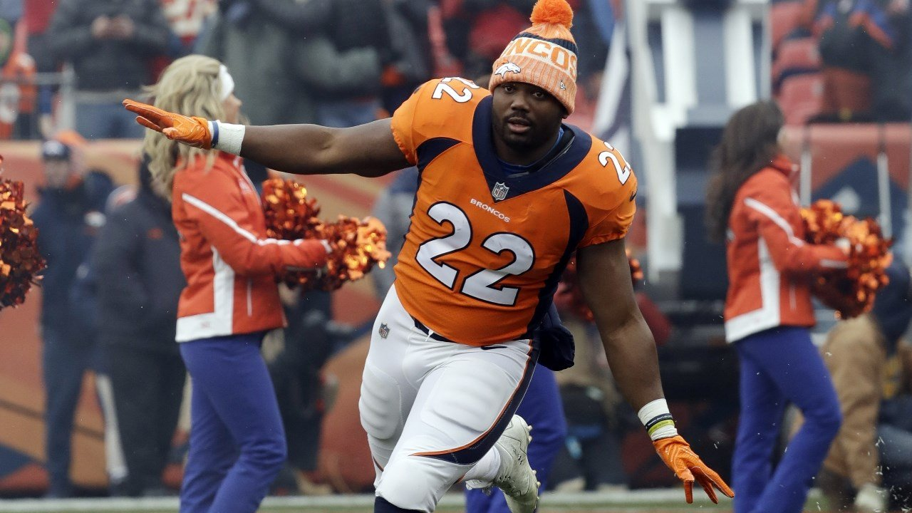 Broncos Cut Running Back CJ Anderson