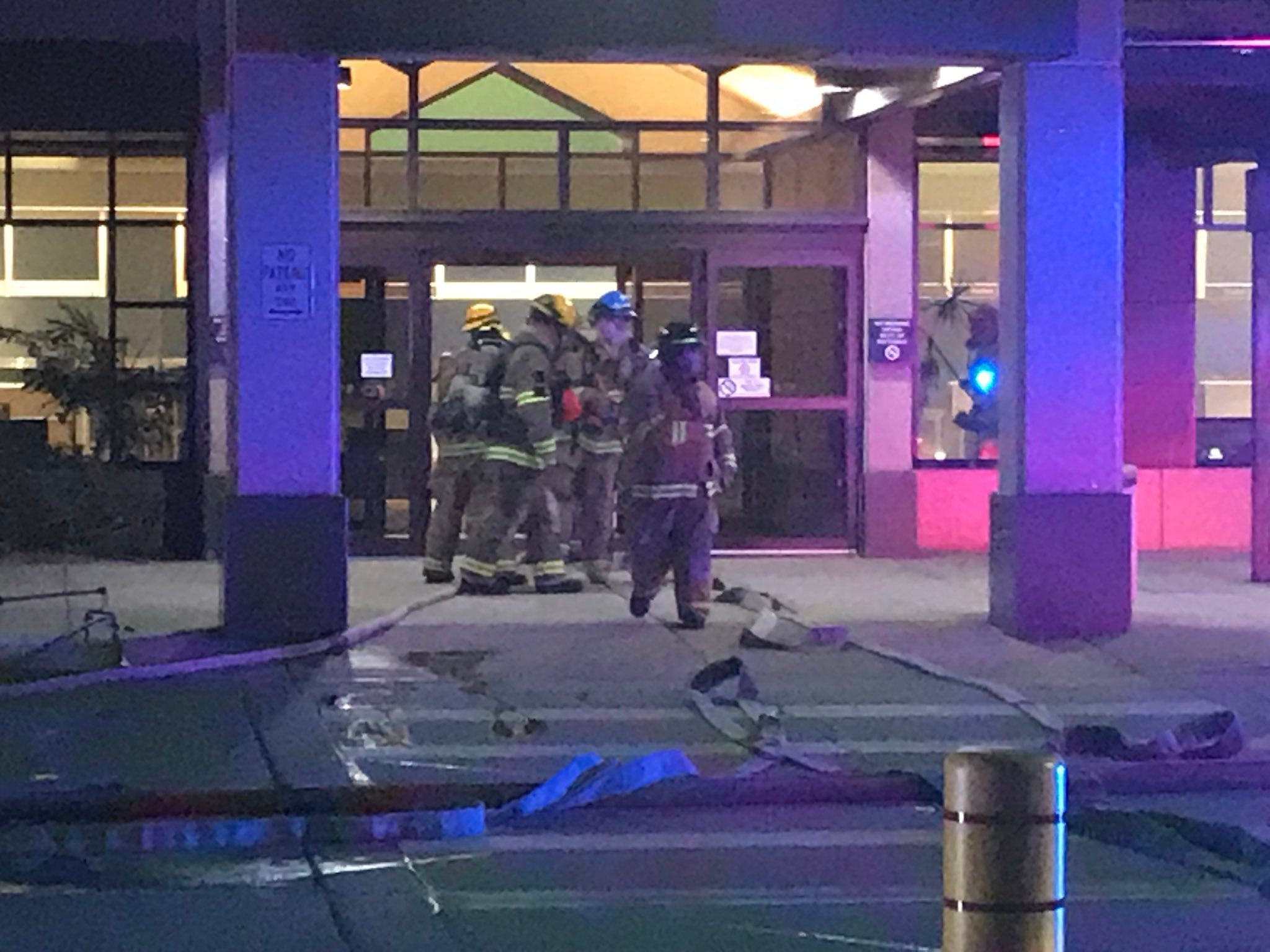 Colorado Springs airport closed after fire