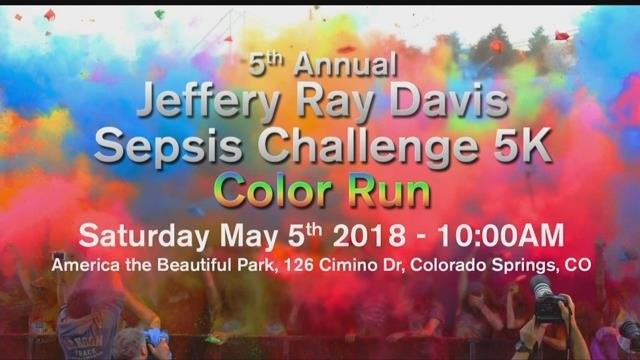 This year's Jeffery Ray Davis Sepsis Challenge 5K will be held on Saturday May 5th