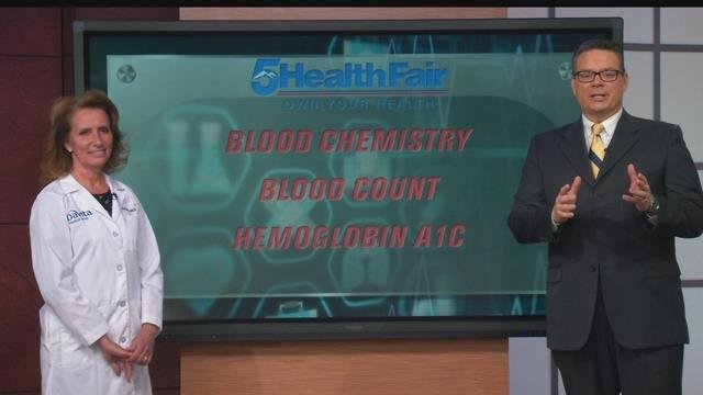 Come to the 5 Health Fair this weekend to learn your blood count