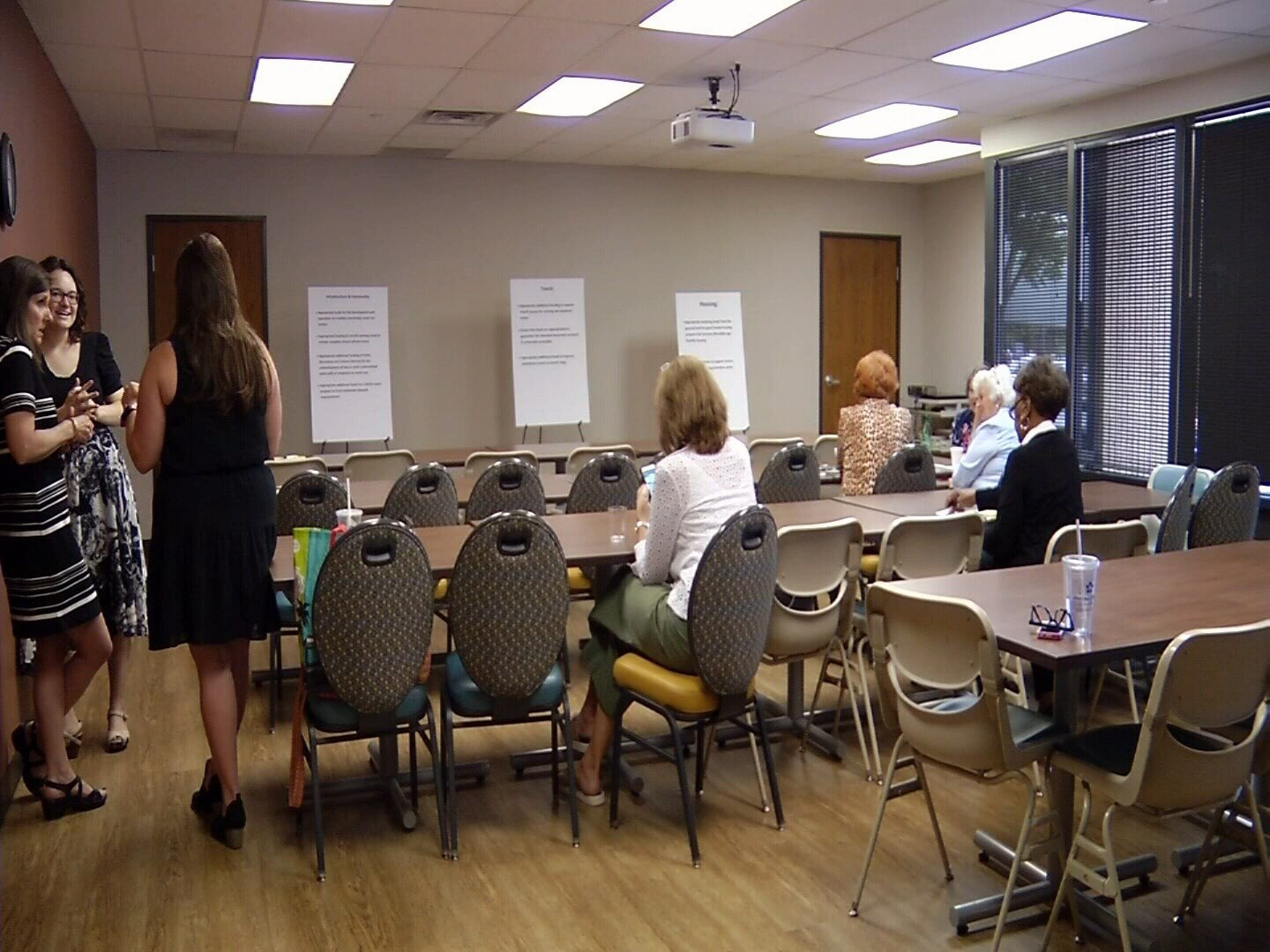 Silver Key Senior Services hosted the Colorado Springs Commission on Aging to gather feedback about budget priorities