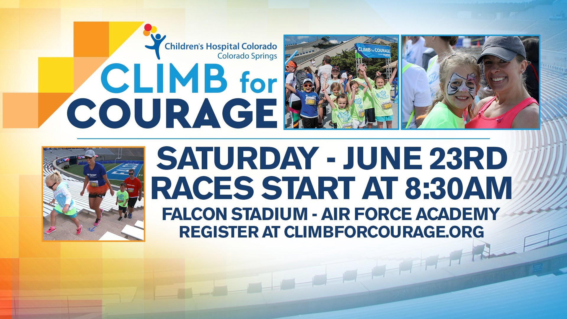 This year's signature fund raiser for the new Children's Hospital being built in Colorado Springs is Saturday June 23rd at 8:30 a.m.