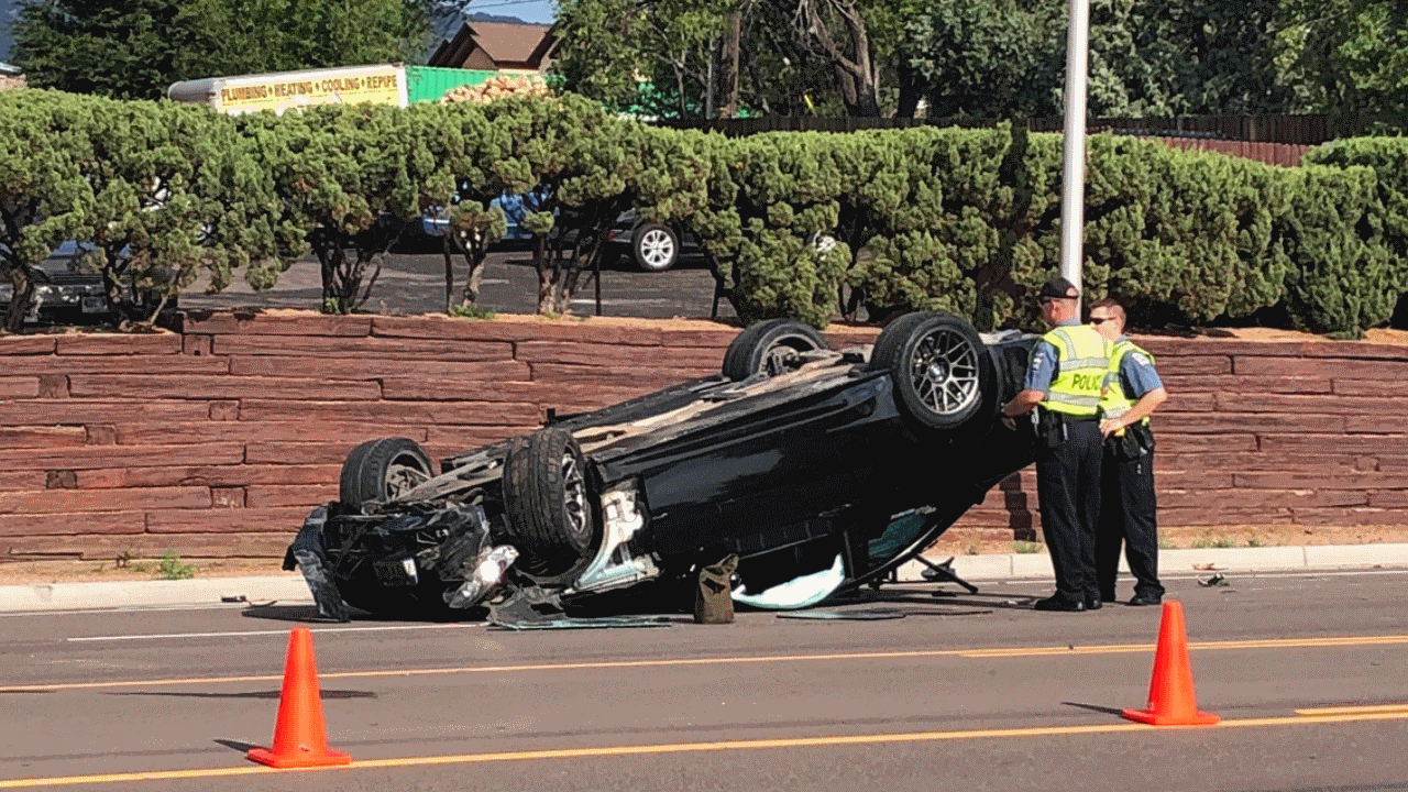 A rollover crash on 8th Street near Cheyenne Blvd has claimed one life (July 17, 2018)