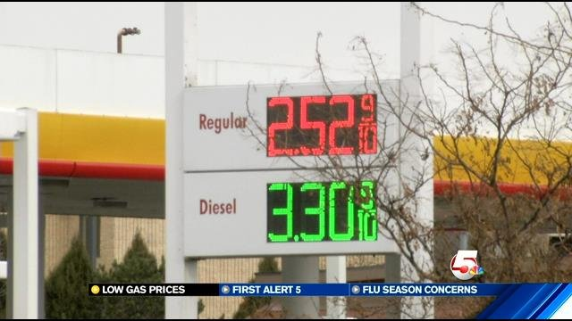 Gas prices begin winter downward slide