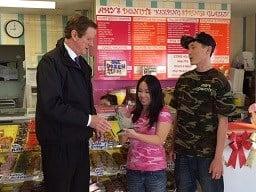 Amy's Donuts receives mayor's Entrepreneurial Award