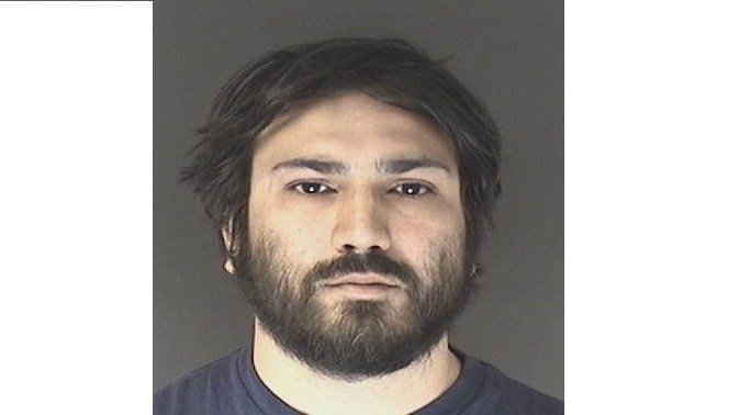 Jeremiah Perez arrested after agents said he made threats against police in online comments.