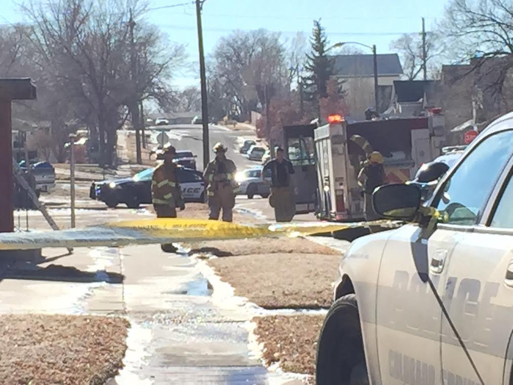 Authorities on scene of possible explosion in Colorado Springs.