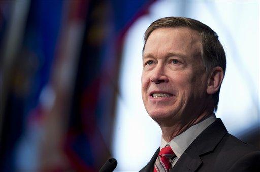 STOCK PHOTO: Colorado Governor John Hickenlooper (AP photo)