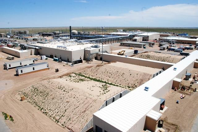 Birdseye view of Pueblo Chemical Agent-Destruction Pilot Plant