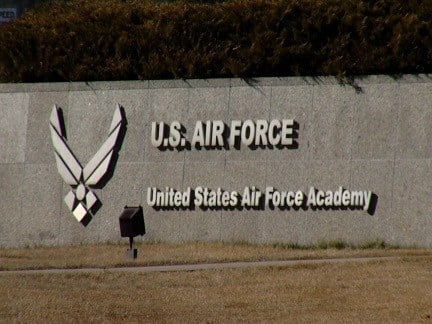 Air Force Academy gate