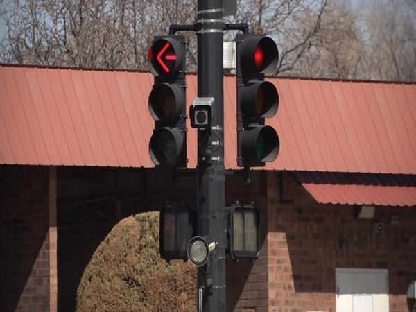 Red light camera at US-50 and Norwood