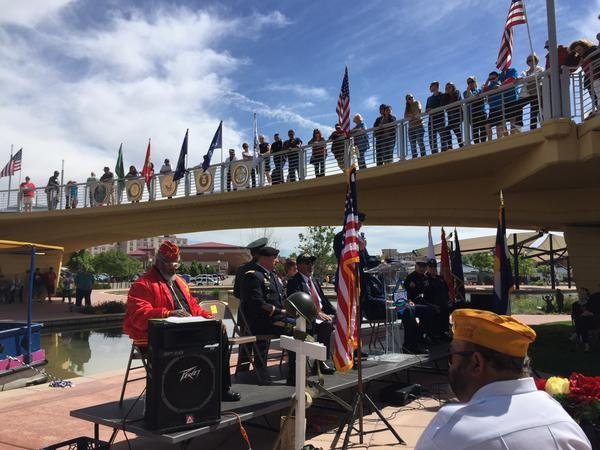Memorial Day on the Pueblo Riverwalk 2015