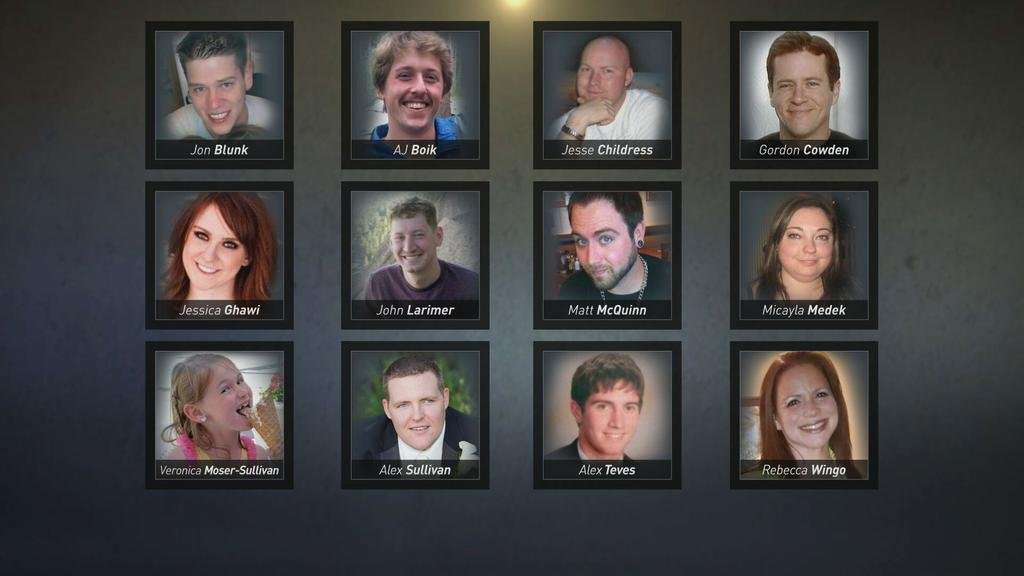 Victims of the Aurora theater shooting